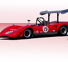 1969 Lola T163 Racecar by DaveKoontz