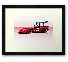 1969 Lola T163 Racecar Framed Print
