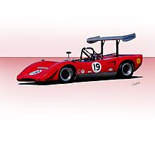 1969 Lola T163 Racecar Photographic Print