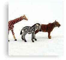 Nostalgic Toys Series - Animals Canvas Print