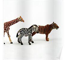 Nostalgic Toys Series - Animals Poster