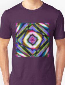GEOMETRIC RAINBOW Unisex T-Shirt
