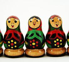 Nostalgic Toys Series - Babushkas by KirstyStewart