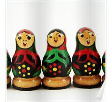 Nostalgic Toys Series - Babushkas Poster