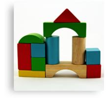 Nostalgic Toys Series - Blocks Canvas Print