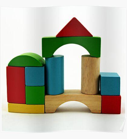Nostalgic Toys Series - Blocks Poster