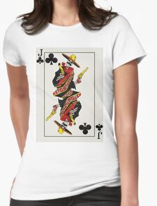 Jack of Clubs Womens Fitted T-Shirt