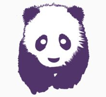 Purple Panda Kids Tee