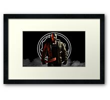 Mortal Kombat X-Jason Framed Print