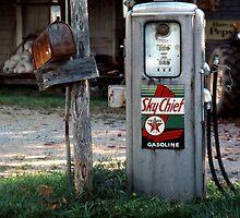 Texaco Pump by Syd Weedon
