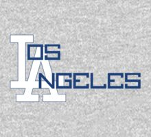 Los Angeles Dodgers (White) by WrnrG