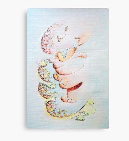 Tick Talk Canvas Print