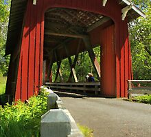 Brookwood Covered Bridge by James Eddy