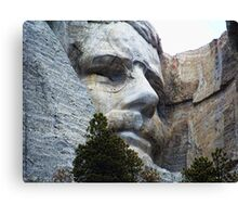 Roosevelt on Rushmore Canvas Print