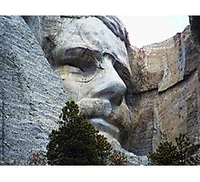 Roosevelt on Rushmore Photographic Print