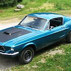 1967 mustang, 390--6pack by roserock