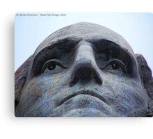 Washington on Rushmore Canvas Print