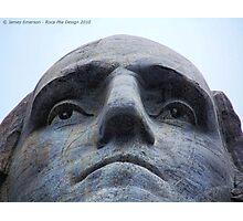 Washington on Rushmore Photographic Print