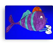 xbox gaming singular fish  Canvas Print