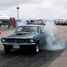 Racing 1967 Mustang by roserock