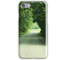 A Familiar Road iPhone Case/Skin
