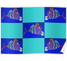 xbox gaming fish Poster