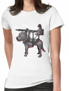 Stop The Pigeon, How? Womens Fitted T-Shirt