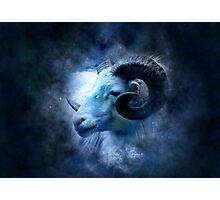 Zodiac signs - aries Photographic Print
