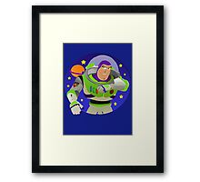 Toy Story Buzz Lightyear Space Ranger Framed Print