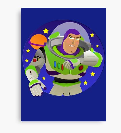 Toy Story Buzz Lightyear Space Ranger Canvas Print