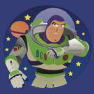 Toy Story Buzz Lightyear Space Ranger by shaz3buzz2