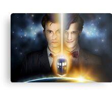 Doctor Who - Tennant & Smith  Metal Print