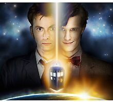 Doctor Who - Tennant & Smith  by BenH4