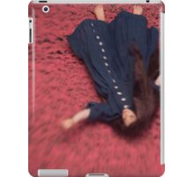By the Flowers She was Swept Away iPad Case/Skin