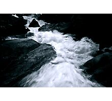 Flowing into Glass Photographic Print