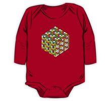 rubik's cube expanded One Piece - Long Sleeve