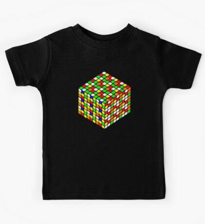 rubik's cube expanded Kids Tee