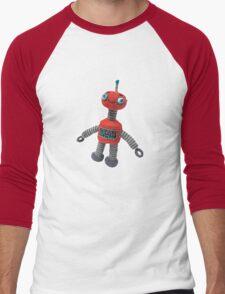 Robbie Robot Men's Baseball ¾ T-Shirt