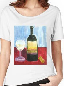 Relax And Have a Glass of Wine Women's Relaxed Fit T-Shirt