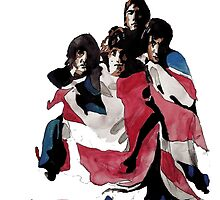 The Who Watercolour painting by Gangofgin95