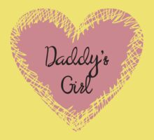 Daddy's Girl for Kids Kids Tee