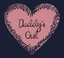 Daddy's Girl for Kids Kids Tee