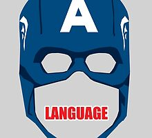 Captain America Language by EJTees