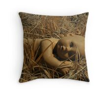 No one leaves Baby in the desert...  Throw Pillow