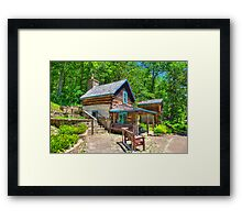 Immigrant Cabin Framed Print