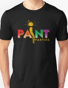 iPaint Parties Logo Unisex T-Shirt