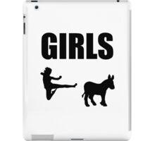 Girls Kick Ass iPad Case/Skin