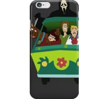 Scream-Scooby Doo iPhone Case/Skin