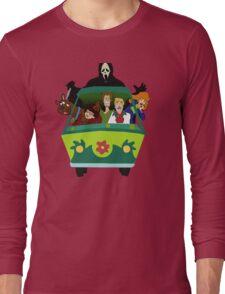 Scream-Scooby Doo Long Sleeve T-Shirt