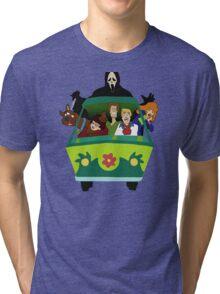 Scream-Scooby Doo Tri-blend T-Shirt